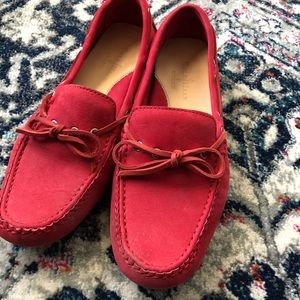 Cole Haan Red Driving Mocs